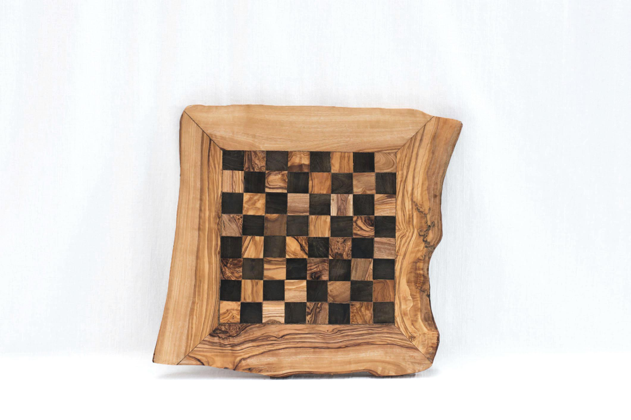 Olive Wood Chess Board Natural Small Medium Big Olive