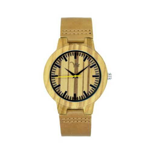 Wooden Watches Leather Strap