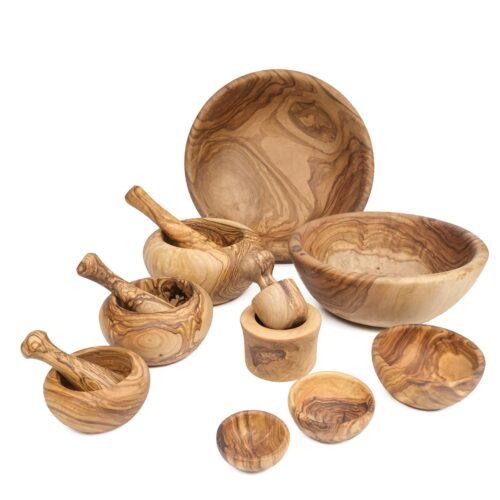 Bowls & mortar and pestle